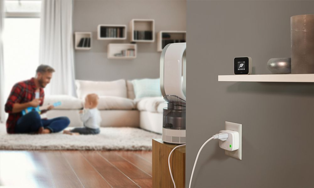 Devices like Eve Room can be used to monitor air quality