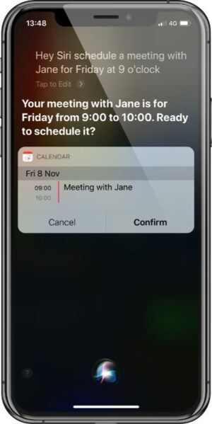 Ask Siri - Meeting